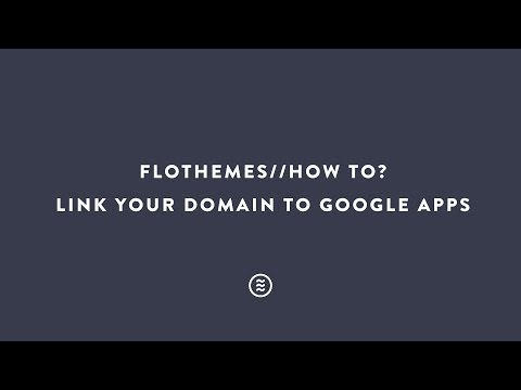 How To Link Your Domain To Google Apps?