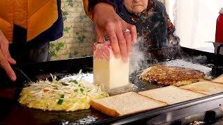 Download Grandmother's Toast - Korean Street Food Video