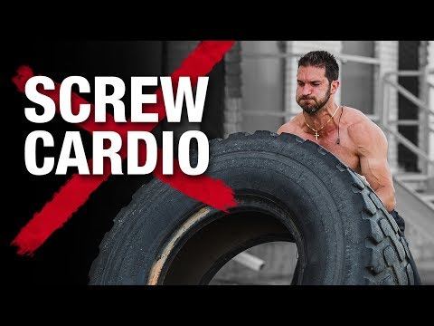 Killer STRONGMAN Workout Routine (BUILD MUSCLE BURN FAT!)