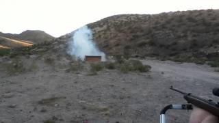 A lot of Kick ass Exploding Targets ATX-1 shot with Ruger 10/22