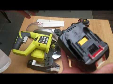 Makita Battery to Ryobi Tools (Battery Adapter)