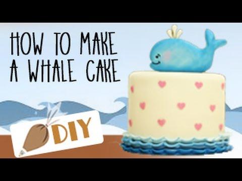 HOW TO MAKE a Whale Cake DIY#3