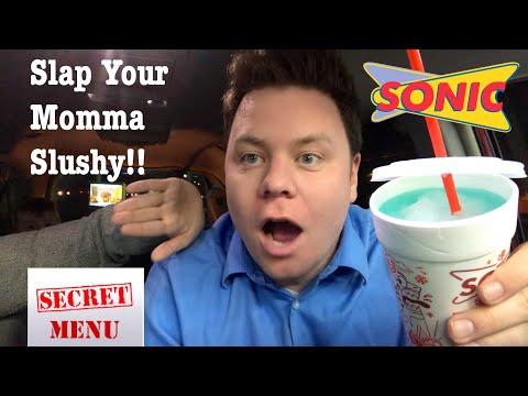 SLAP YOUR MOMMA SLUSHY SONIC SECRET MENU DRINK REVIEW