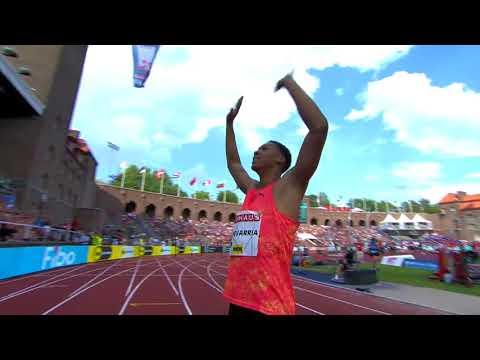 Juan Miguel Echevarria - Long Jump 8.83m!!! Stockholm Diamond League 2018