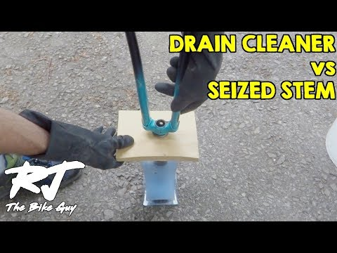 Removing Seized Quill Stem With Drain Cleaner/Sodium Hydroxide/Lye