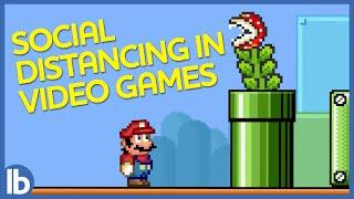 Videogame Social Distancing (Lowbrow Original)