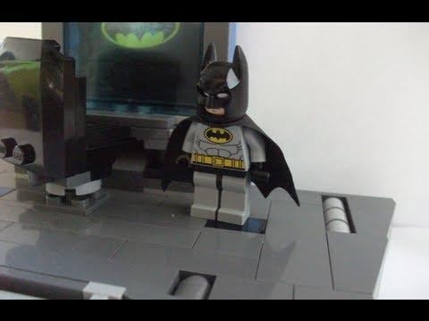How to make a Lego Batcave Part 1 - Batcomputer