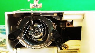 How To Thread The Bobbin On Kenmore Sewing Machine Model 12