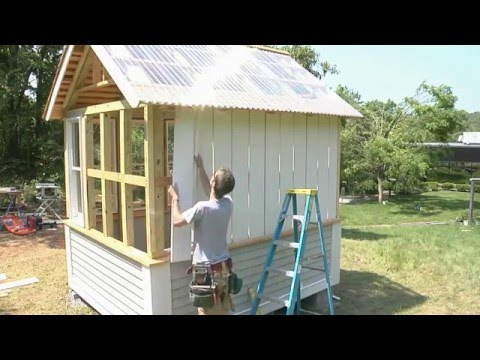 How to install board-and-batten siding