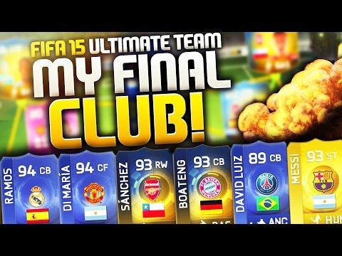 FIFA 15 - MY FINAL CLUB TOUR! (FIFA 15 ULTIMATE TEAM)
