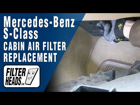 How to Replace Cabin Air Filter Mercedes-Benz S-Class