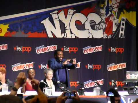 The Walking Dead at New York Comic Con 2014