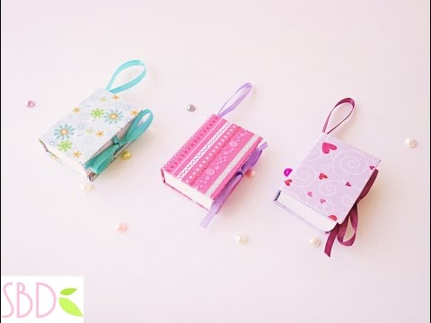 Mini notebook portatili Tutorial - ENG SUBS DIY Mini Notebooks