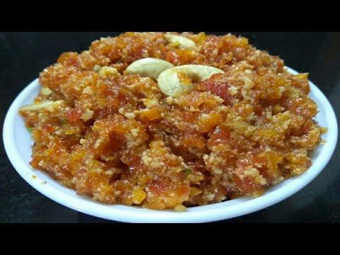 मात्र 7 मिनट में कुकर में बनाए गाजर का हलवा । Gajar Ka Halwa Recipe
