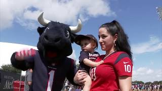UNMASKING TORO: Meet the person behind the Texans mascot