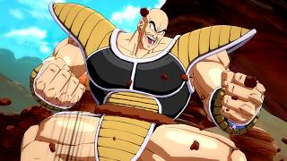 NAPPA JOINS THE BATTLE! Dragon Ball FighterZ Nappa Gameplay Trailer