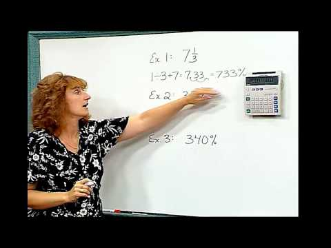 Calculator Achievement-Relationships Between Fractions, Decimals, and Percents