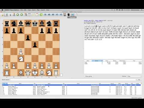 Mac Chess Explorer - Exploring Openings