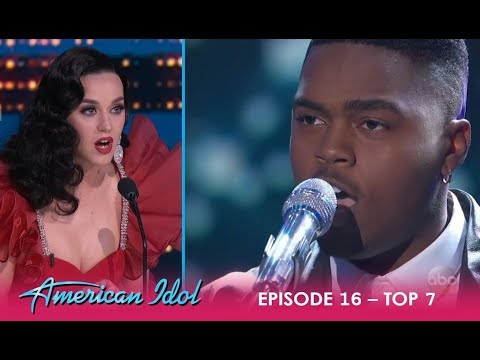 Michael Woodard: Katy Perry PREDICTS Oscars & Grammy's For This Guy! | American Idol 2018