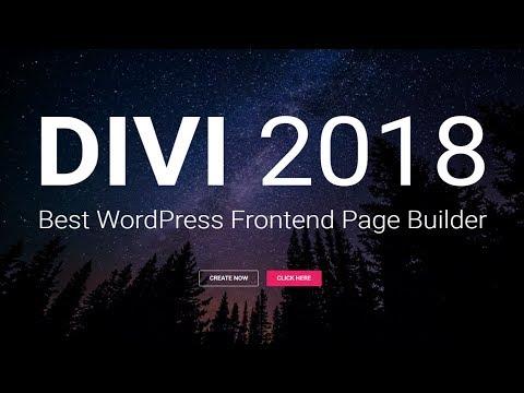 How to Make a WordPress Website 2018 - Divi Tutorial