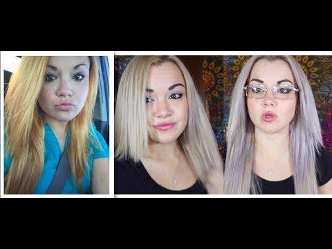 How To Fix Orange Hair (Wella T18 Toner VS Purple Shampoo)