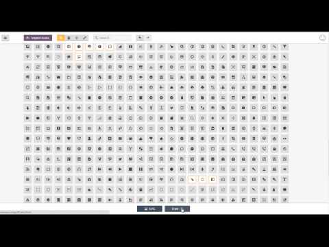 WP SVG Icons | Icomoon Font Pack Importer