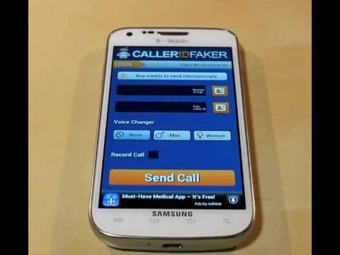 HOW TO CALL SOMEONE AS A DIFFERENT NUMBER  | FAKE ID Caller app|