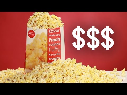 Proof That Movie Theater Popcorn Is A Rip-Off