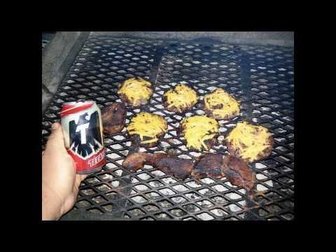 Jalapeno venison bacon cheese burgers & steaks