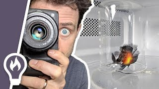 How to film the inside of a microwave (2 ways)