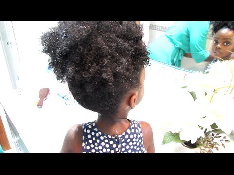 5 Minute Daily Moisture Routine for Toddlers with Natural Hair