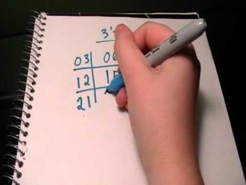 3 Times Table Trick