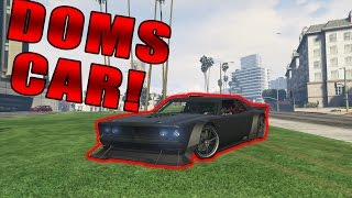 How to get Doms Dodge Ice Charger in GTA 5!