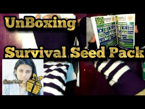 Unboxing   Seed Survival Pack