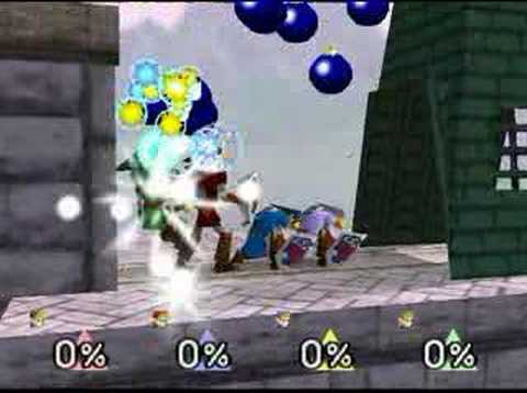 Super Smash Bros 64 : Black Hole Glitch