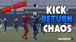 KICK RETURN CHAOS Madden 17 Multiplayer Custom Game Mode - ABSOLUTE MADNESS!