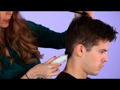 How to Cut a Man's Hair with Clippers | Hair Cutting