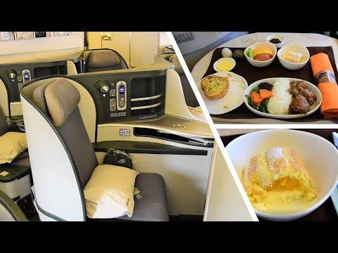 EVA Air Royal Laurel Business Class Taipei to Manila
