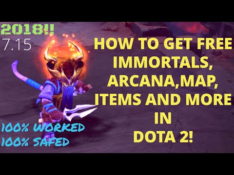 [May 2018] DOTA 2  7.15 How to get free arcana/immortal/terrain/music and more FREE MOD 2018
