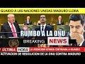 Guaido A La Asamblea De Las Naciones Unidas Maduro Llora