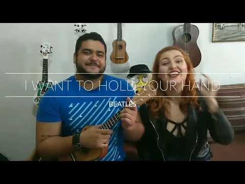 I Want to Hold your Hand - Beatles, por VOZEUKE - Ukulele Cover