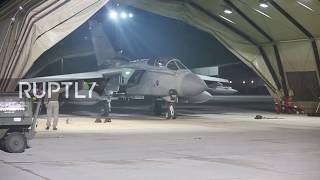 Syria: British Tornados fighter jets prepare for bombing raid on Homs, Syria