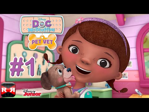 Doc McStuffins Pet Vet (By Disney) - iOS / Android - Gameplay Video Part 1