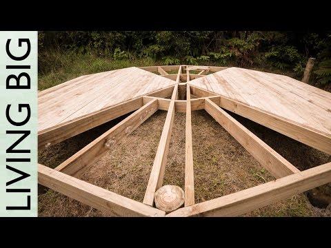 DIY Deck Platform For A Belle Tent (Or A Yurt)