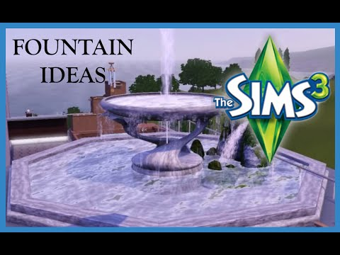 SIMS 3 Creative Fountain Ideas For Your Sims