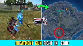 Free Fire : Treatment Gun Fight In Zone |