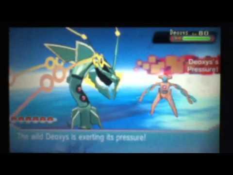 Pokemon Alpha Sapphire - Catching Deoxys