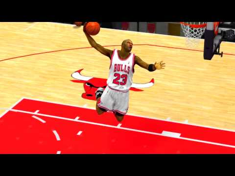 NBA 2K13: Michael Jordan Dunk (FREESTYLE) 2