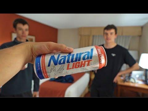 UK Fisherman Try Cheap AMERICAN Beer
