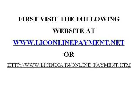 Lic Online Payment - How to Make It Easily?